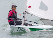 Laser 212065. Top of the Gulf Regatta 2018.