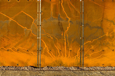 Weathering steel panels IBCC