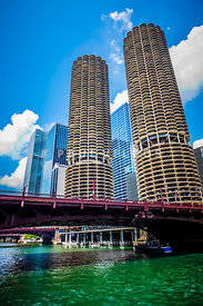 Picture of Chicago Marina City Corncob Buildings
