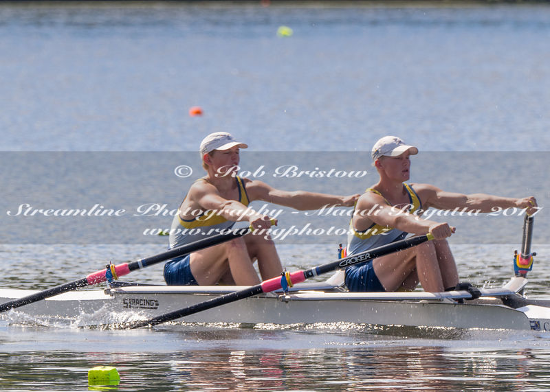 Taken during the NZSSRC - Maadi Cup 2017, Lake Karapiro, Cambridge, New Zealand; ©  Rob Bristow; Frame 1303 - Taken on: Friday - 31/03/2017-  at 15:02.46