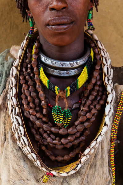 Hamar Woman's Necklaces and Adornment
