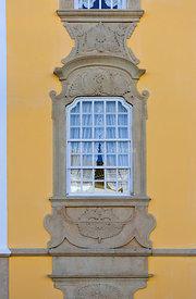 Window of Castelo de Vide. Alentejo, Portugal