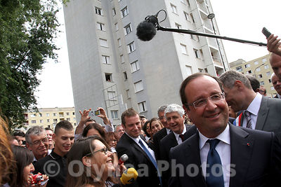 Visit of French president Francois Hollande on the Gers  photos, pictures, picture, agency