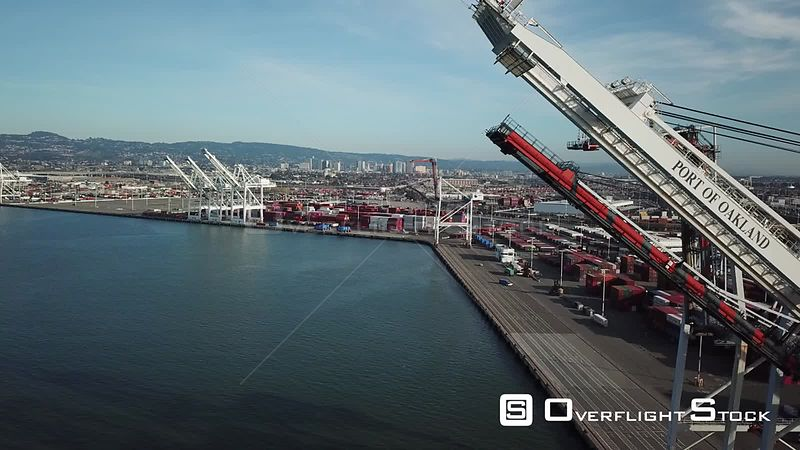 Shipping Docks at Oakland California