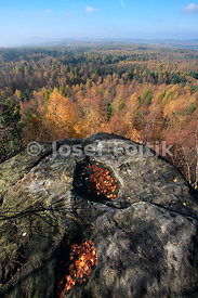 Tiske Walls, near Tisa, North Bohemia, Czech Republic