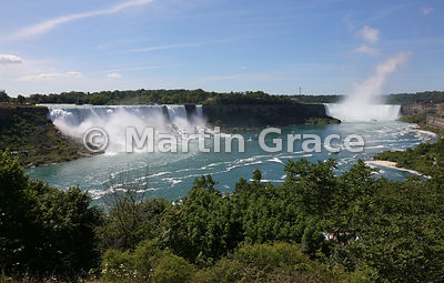 Expansive view of Niagara Falls from the Canadian side, Niagara Falls, Ontario, Canada