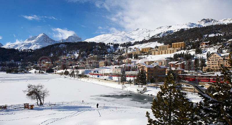 Stock St.Moritz Winter photos