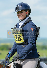 Jane Emma Riley and LOMOTO - Rockingham Castle International Horse Trials 2016