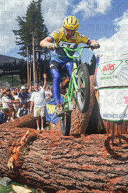 HANS REY TRIALS COMPETITION MAMMOTH CALIFORNIA USA 1991