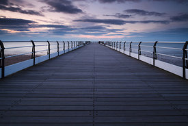 Twilight Pier, Saltburn