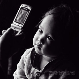 Hmong Baby Girl Entranced