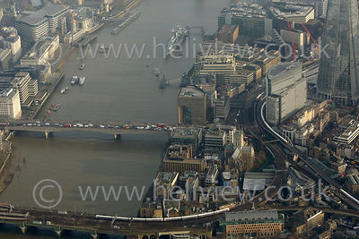 London Bridge to Borough Market aerial photographs