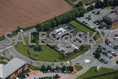Shenstone M6 Toll and A5 Bypass Aerial photographs