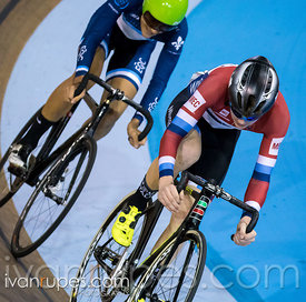 U 17 Men Points Race, 2017/2018 Track Ontario Cup #3, Mattamy National Cycling Centre, Milton On, February 11, 2018