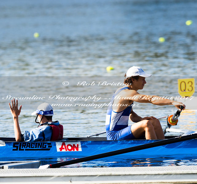 Taken during the NZSSRC - Maadi Cup 2017, Lake Karapiro, Cambridge, New Zealand; ©  Rob Bristow; Frame 1603 - Taken on: Friday - 31/03/2017-  at 16:28.57