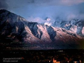 Salt Lake City, Mountains