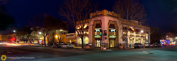 Downtown Chico at Night  #4