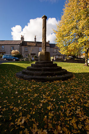 The cross at Great Longstone