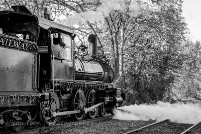 Steam train, Jamestown, CA