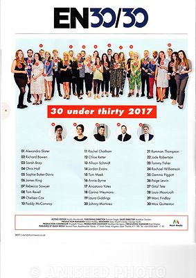 Mash Media Thirty Under 30 supplement - June 2017