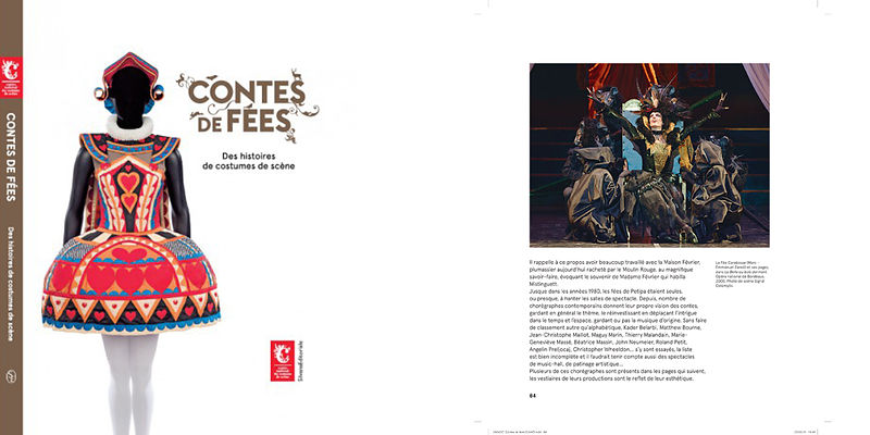 Catalogue exposition Contes de fées / Centre national du costume de scène 2018