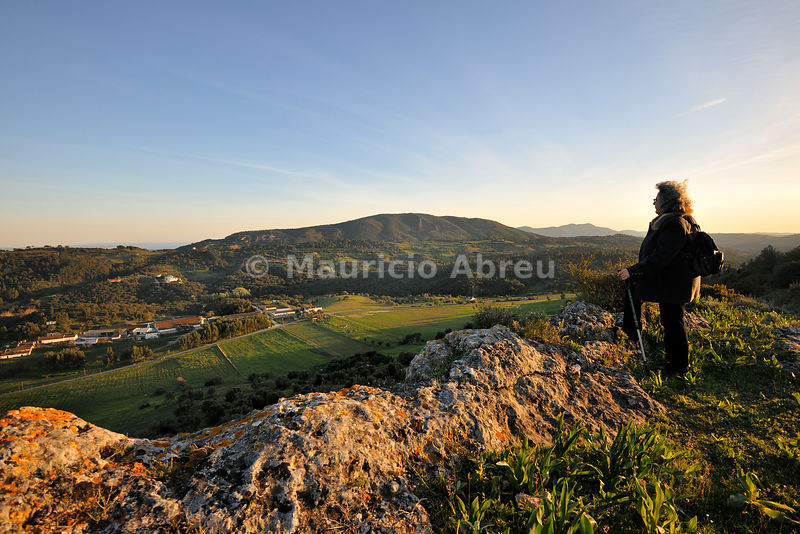 Walking trails in the Arrabida Nature Park. Portugal (MR)