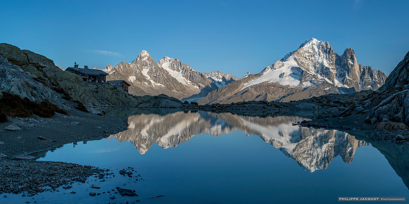 Sunset over the Lac Blanc 2 - Chamonix Mont-Blanc