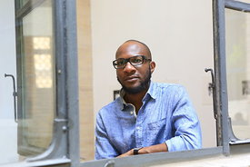Author Teju Cole at the Rome Festival of Literature