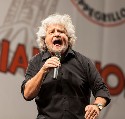 Beppe Grillo photographers