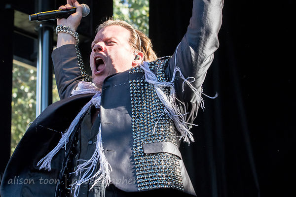 Fozzy at Aftershock 2017 photos