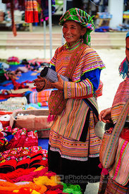 Flower Hmong Lady