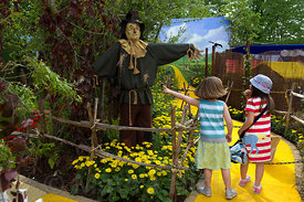 Wizard of Oz Sanctuary Garden by Mark O'Loughlin, Sanctuary Landscapes.