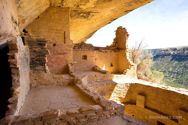 BALCONY HOUSE MESA VERDE NATIONAL PARK COLORADO COLOR