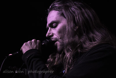 Tim Charles, vocals and violin, Ne Obliviscaris