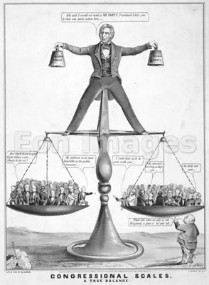 Compromise of 1850 political cartoon
