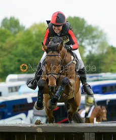 Loretta Joynson and PSH JAKE -  Rockingham Castle International Horse Trials 2016