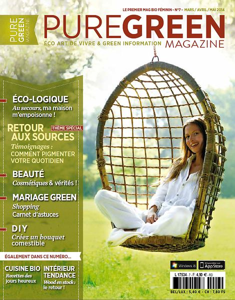 Pure Green Magazine (France) - Mars 2014 photos