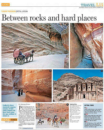 Jordan-Petra-in-Hindustan Times-Mint paper.jpg photos