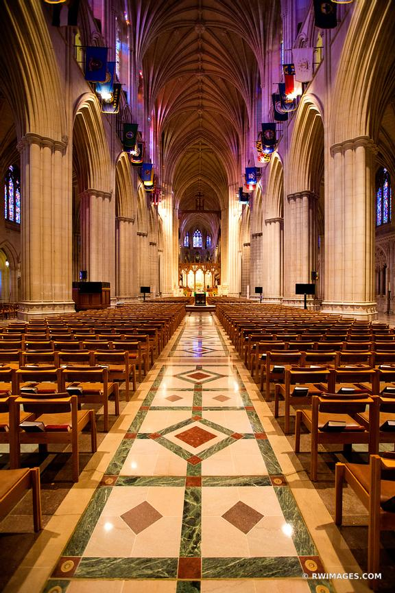 WASHINGTON NATIONAL CATHEDRAL INTERIOR WASHINGTON DC COLOR VERTICAL