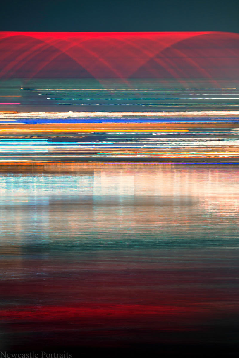 River Tyne Abstract