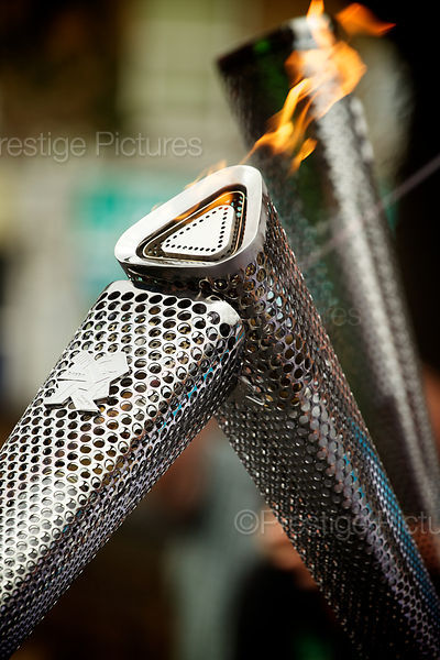 Paralympic Torches Kissing