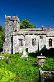 Saint Donats Church, Glamorgan Heritage Coast, Vale of Glamorgan, South Wales.
