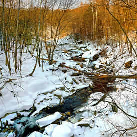 A_Exhibit_Bulls_Bridge_North_snow_river
