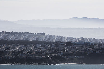 San Francisco seen from Marin Headlands