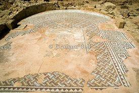 Mosaic, House of Thesius Archaeological park, Paphos, Cyprus