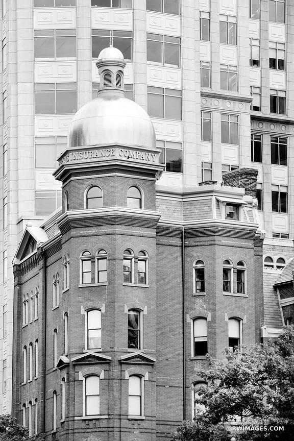 WASHINGTON DC ARCHITECTURE BLACK AND WHITE