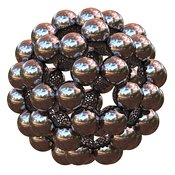 Buckminsterfullerene or Buckyball C60 #8