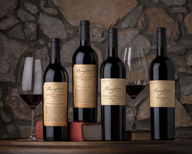 Professional wine bottle shots and photography by Jason Tinacci, Sonoma, California