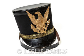 Vintage Military School Shako Marching Band Hat