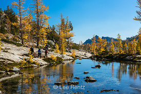 Sprite Lake and Alpine Larches in The Enchantments